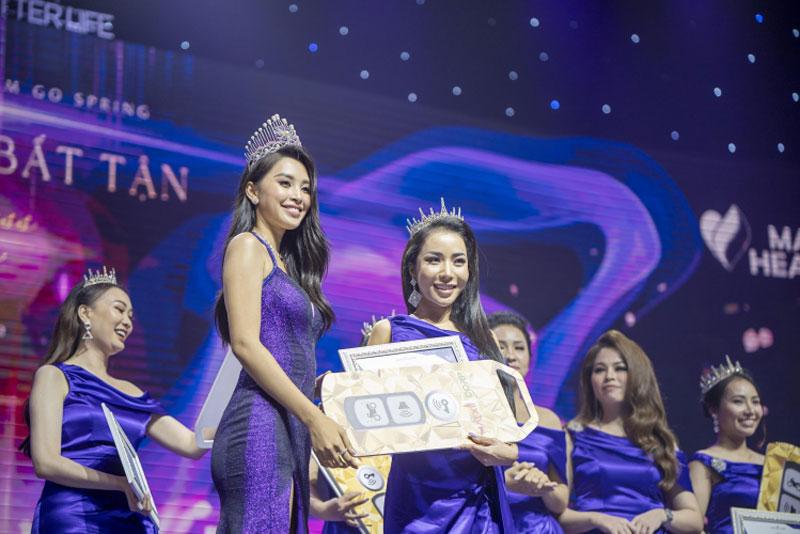 Nhân dịp này, Matxi Corp cũng chính thức công bố đại sứ thương hiệu của Go Spring là Hoa Hậu Việt Nam 2018 Trần Tiểu Vy.