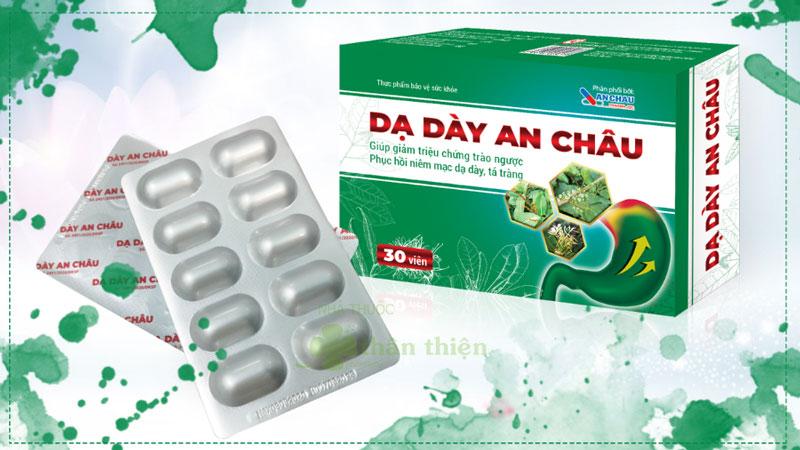 Dạ Dày An Châu, hỗ trợ làm giảm các triệu chứng viêm dạ dày, tá tràng