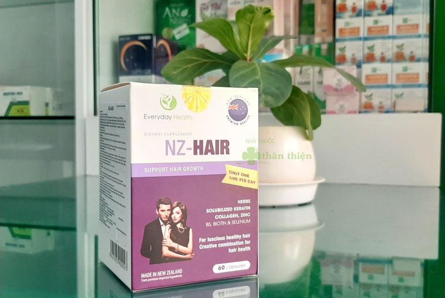 Viên uống NZ-Hair, giúp tóc mọc nhanh trở lại bóng đẹp và chắc khỏe