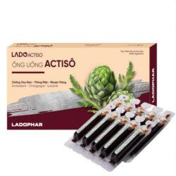 Ống uống Actiso Ladophar (Không đường),