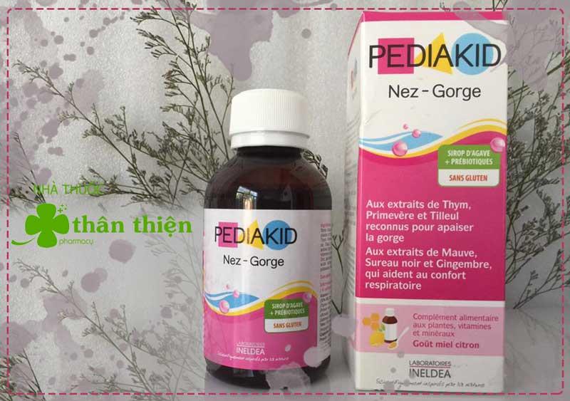 PediaKID Nez-Gorge, giúp làm ấm, thông thoáng đường mũi họng