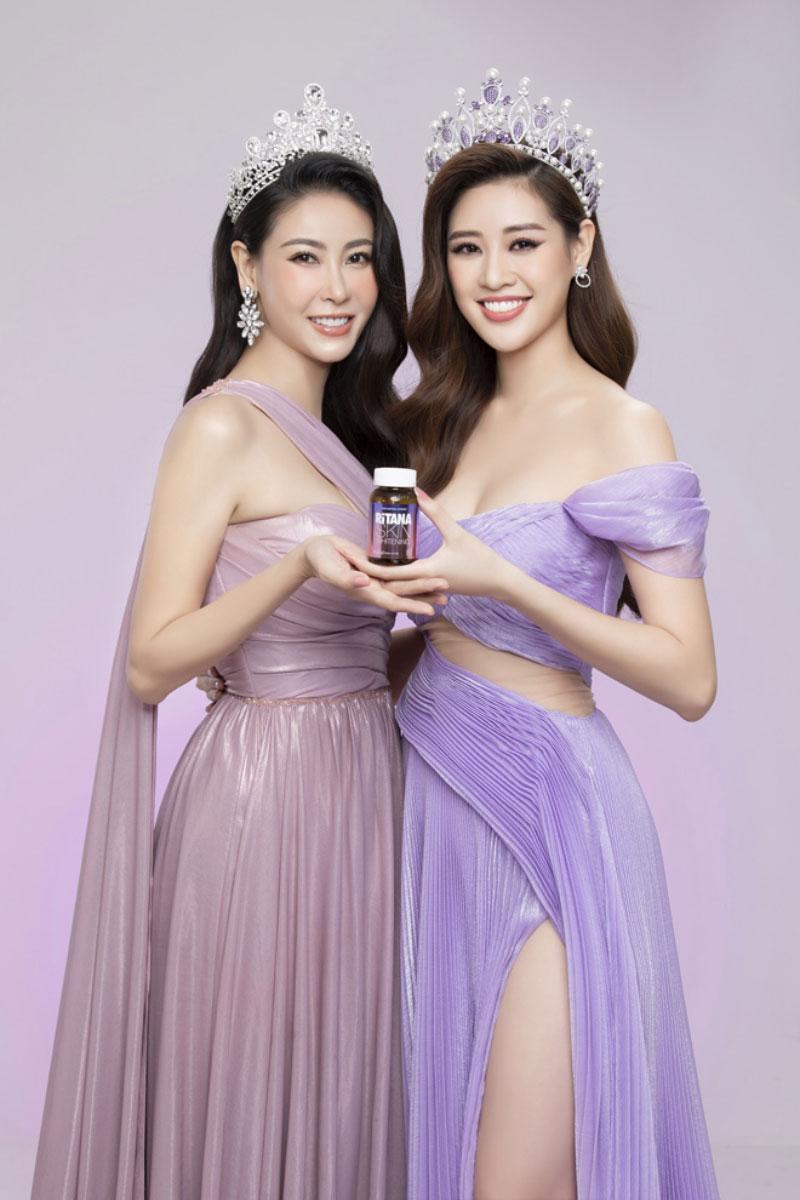 Tin tưởng vào hiệu quả và độ an toàn của sản phẩm, Hoa hậu Khánh Vân và Hà Kiều Anh trở thành đại sứ thương hiệu cho RiTANA