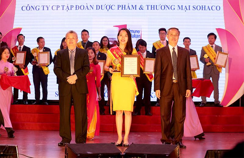 Siro Imunoglukan P4H vinh dự nhận giải thưởng sản phẩm vàng vì sức khỏe cộng đồng năm 2019