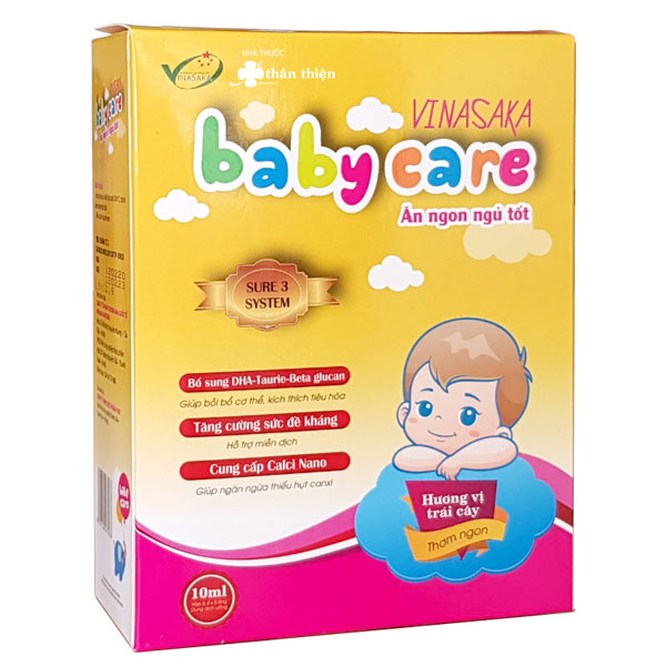 Vinasaka Baby Care Ăn Ngon Ngủ Tốt