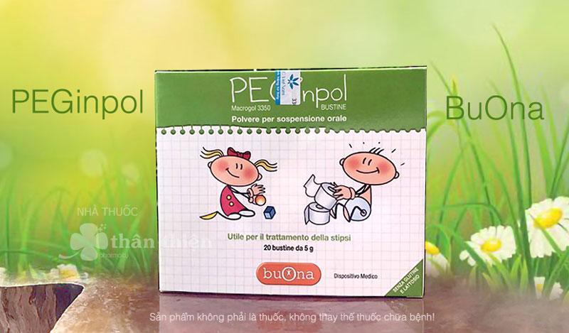 Buona PEGinpol, hỗ trợ nhuận tràng, hỗ trợ trị táo bón