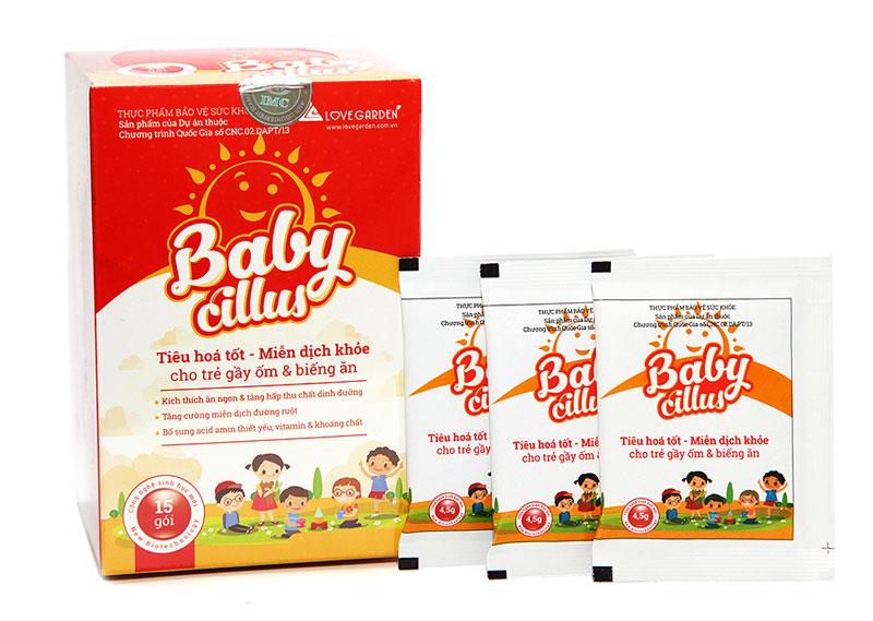 Babycillus, bổ sung lợi khuẩn giúp đường tiêu hóa khỏe mạnh