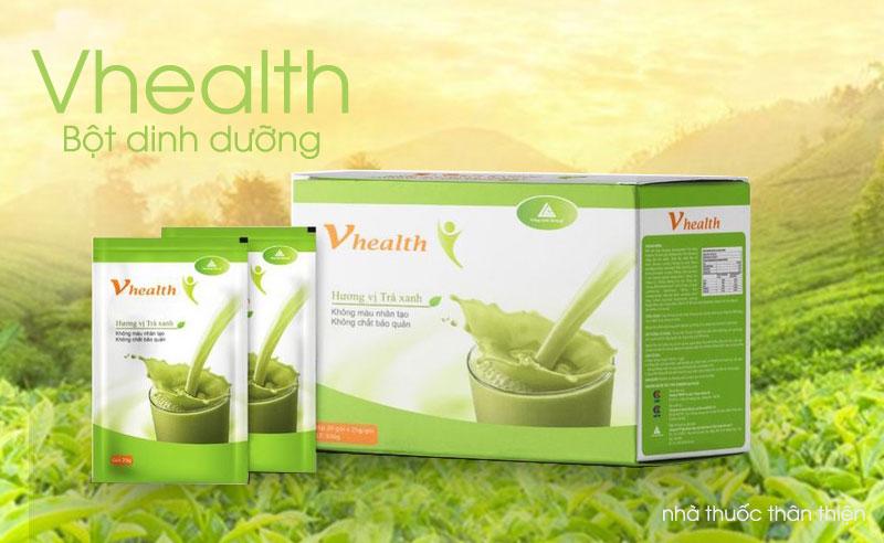 Bột dinh dưỡng Vhealth, tăng cường sức đề kháng cho cơ thể