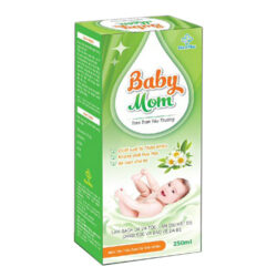 Dung dịch tắm gội Baby Mom