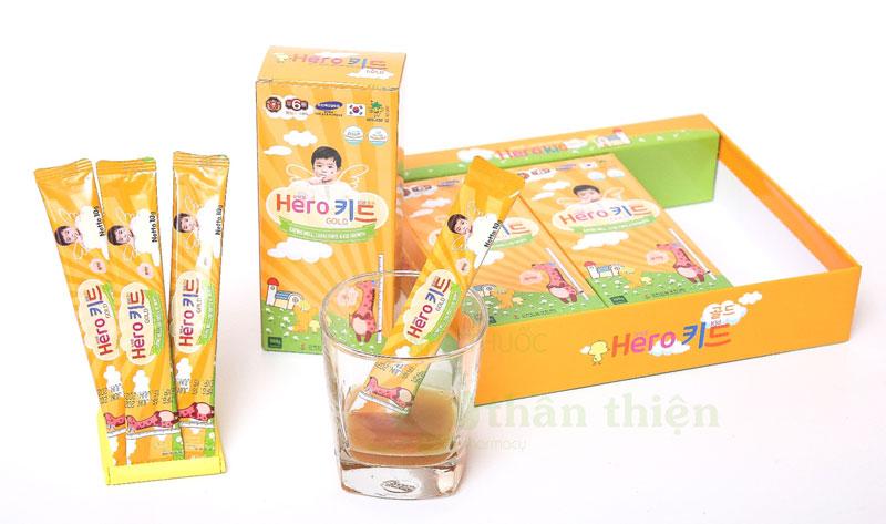 Sản phẩm Hero Kid Gold hiện đang có bán chính hãng tại Nhà Thuốc Thân Thiện