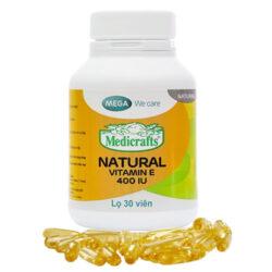 Medicrafts Natural Vitamin E 400 IU