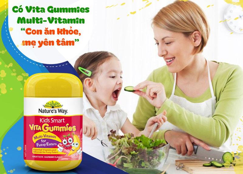 Nature's Way Kids Smart Vita Gummies Multi Vitamin for Fussy Eaters