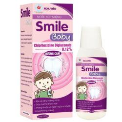 Nước súc miệng Smile Baby Hoa Viên