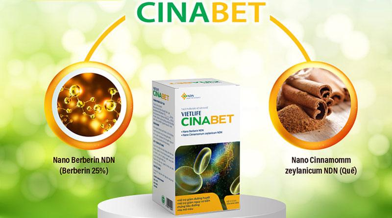 Vietlife Cinabet, hỗ trợ giảm nguy cơ biến chứng của bệnh đái tháo đường