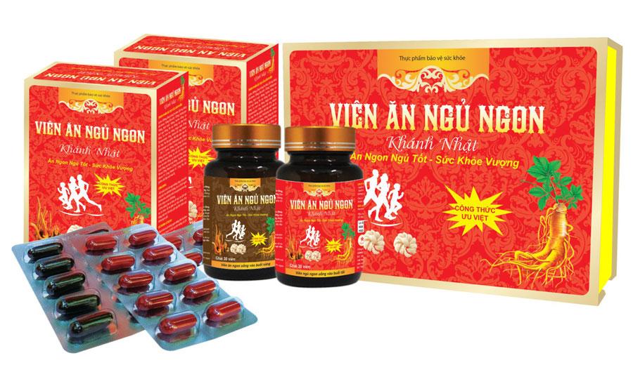 Viên Ăn Ngủ Ngon Khánh Nhật, hỗ trợ kích thích ăn ngon miệng