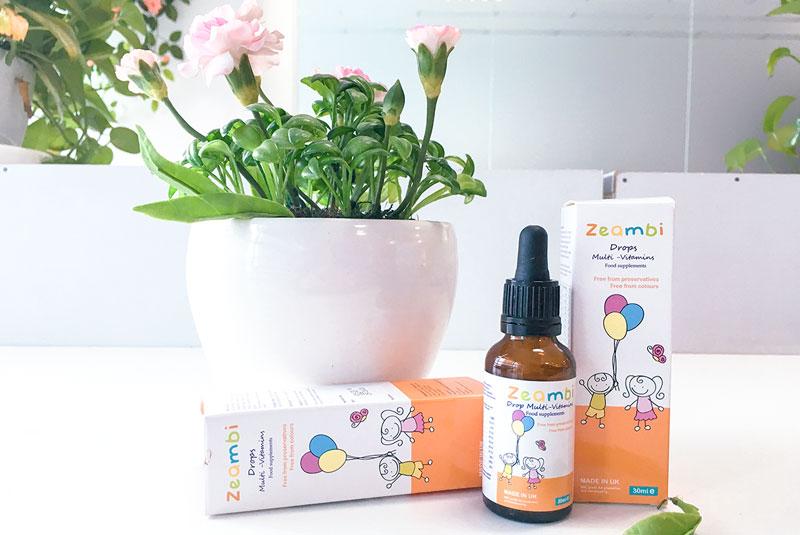 Zeambi Multivitamin, hỗ trợ cung cấp các vitamin cho trẻ