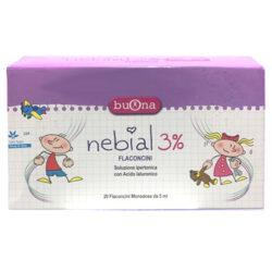 Dung dịch nhỏ mũi Nebial 3% Flaconcini