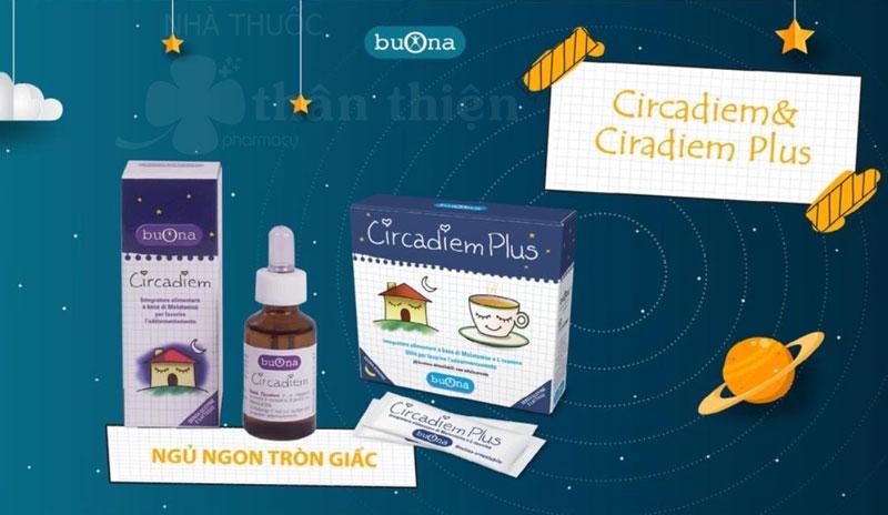 Hình ảnh thực tế BuOna Circadiem Plus đang bán trên thị trường