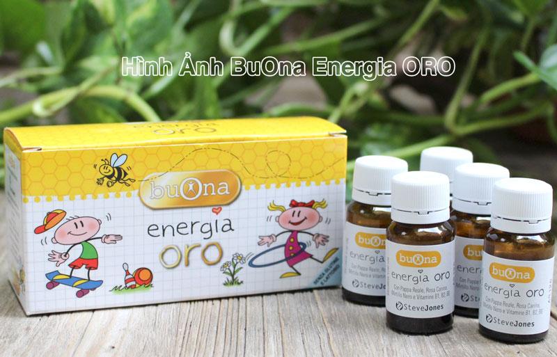 Hình ảnh thực tế Buona Energia Oro đang bán trên thị trường