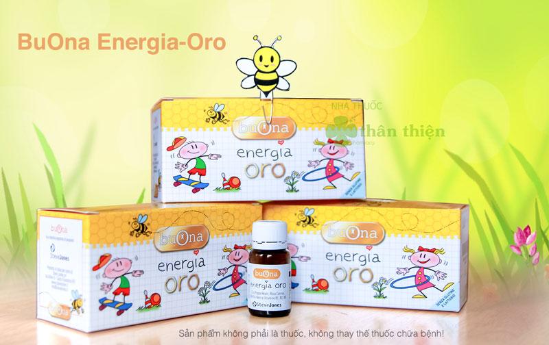 Buona Energia Oro, hỗ trợ tăng cường sức đề kháng, kích thích thèm ăn
