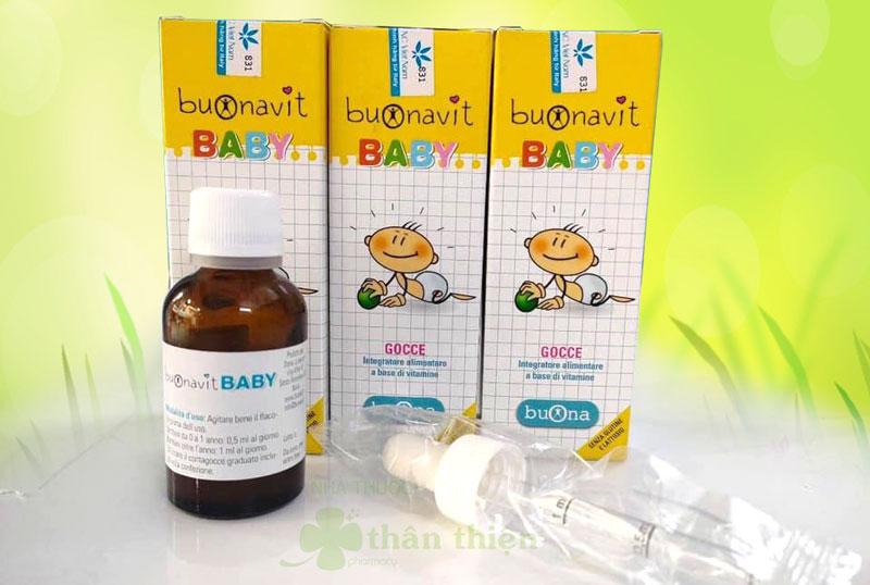 Buonavit Baby, hỗ trợ quá trình chuyển hóa, kích thích ăn ngon miệng ở trẻ