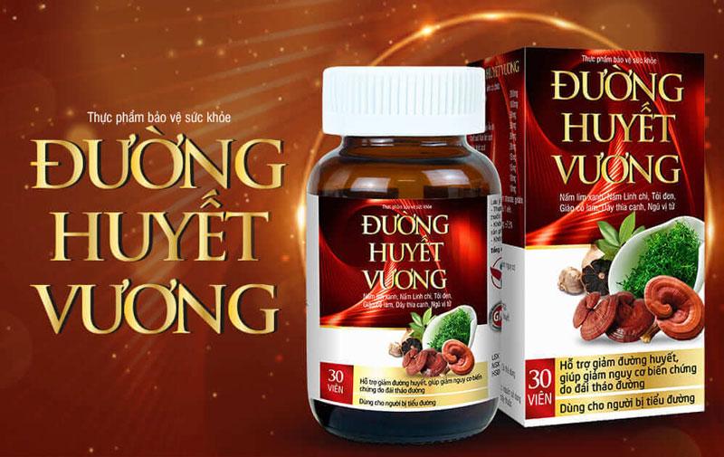 Hình ảnh sản phẩm Đường Huyết Vương đang có bán tại nhà thuốc