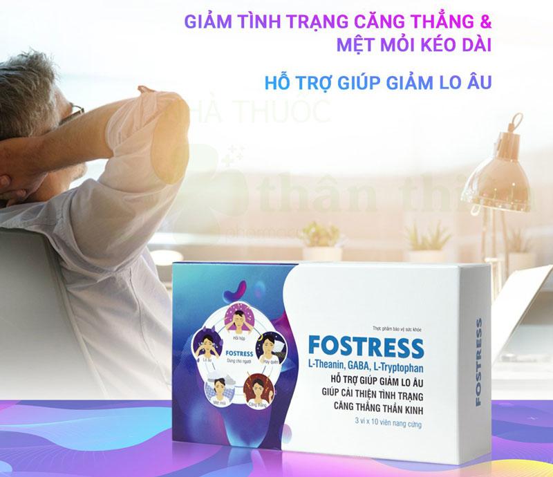 Hình ảnh sản phẩm Fostress thực tế đang bán trên thị trường