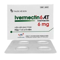 Thuốc Ivermectin6 A.T 6mg