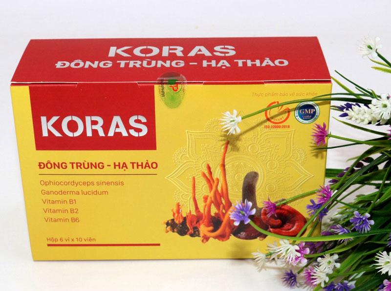 Koras Đông Trùng Hạ Thảo, hỗ trợ tăng cường tiêu hóa và giúp ăn ngon miệng