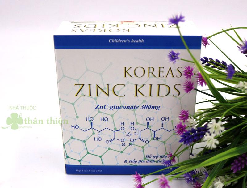 Koreas Zinc Kids, hỗ trợ bổ sung kẽm, tăng cường sức đề kháng