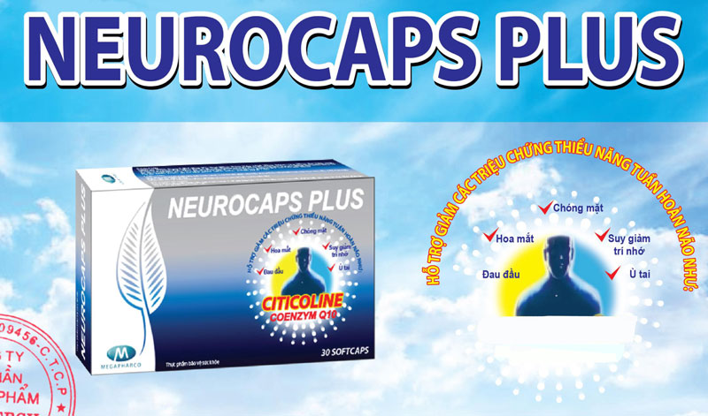 Neurocaps Plus, hỗ trợ cải thiện di chứng sau tai biến mạch máu não