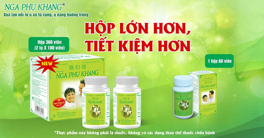Sản phẩm Nga Phụ Khang hiện có bán chính hãng tại Nhà Thuốc Thân Thiện