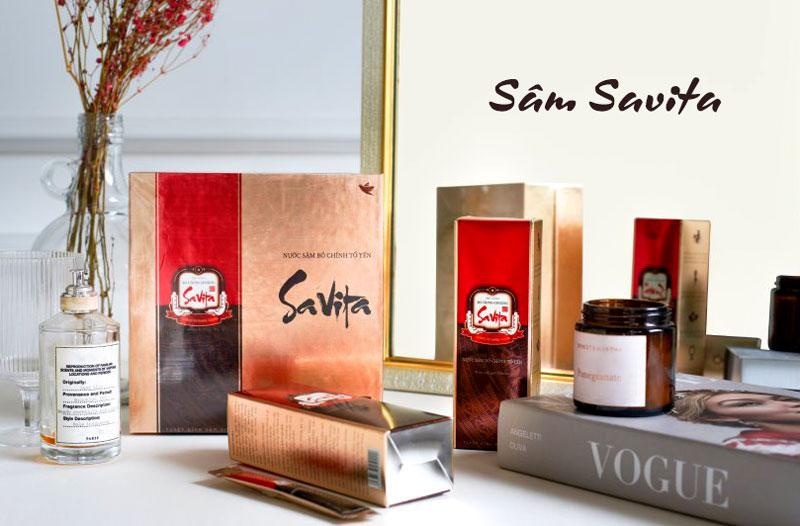 Nước sâm Bố Chính Savita đang được bán nhiều tại các nhà thuốc, quầy thuốc trên toàn quốc