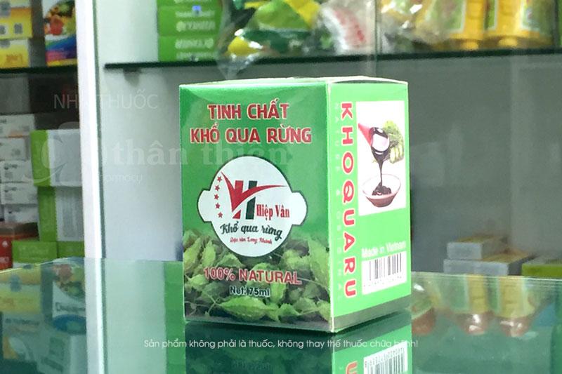 Tinh chất khổ qua rừng Hiệp Vân, hỗ trợ trị bệnh tiểu đường, gout