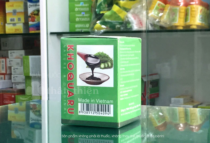 Hình chụp thực tế sản phẩm Tinh chất khổ qua rừng Hiệp Vân tại Nhà Thuốc Thân Thiện
