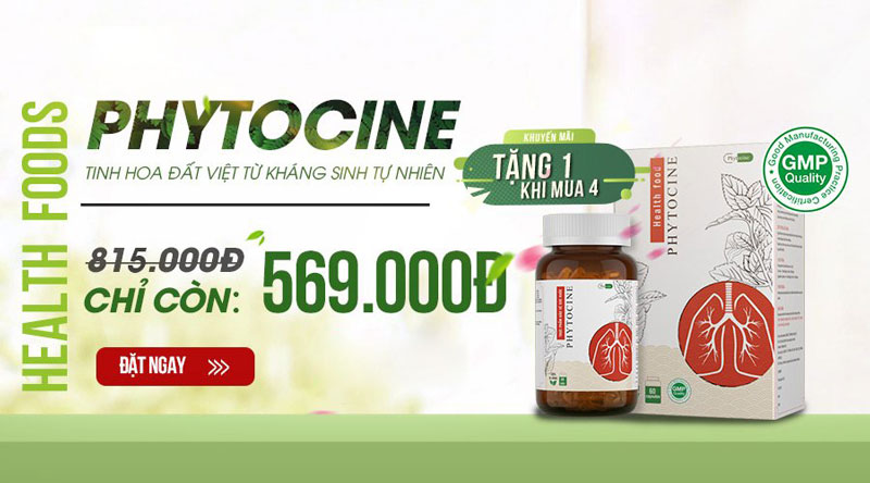 Hình ảnh sản phẩm Phytocine - Cao Xuyên Tâm Liên 250mg đang bán trên thị trường