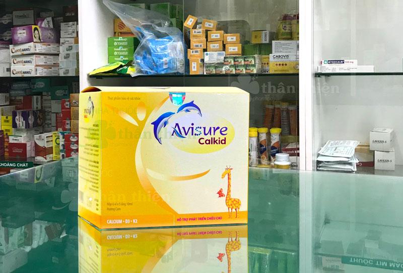 Hình ảnh sản phẩm Avisure Calkid đang có bán chính hãng tại nhà thuốc
