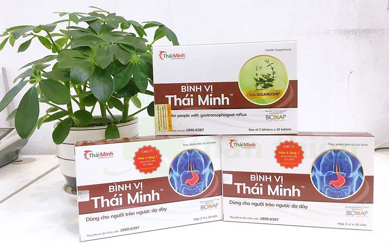 Hình chụp sản phẩm Bình Vị Thái Minh đang bán chính hãng tại Nhà Thuốc Thân Thiện