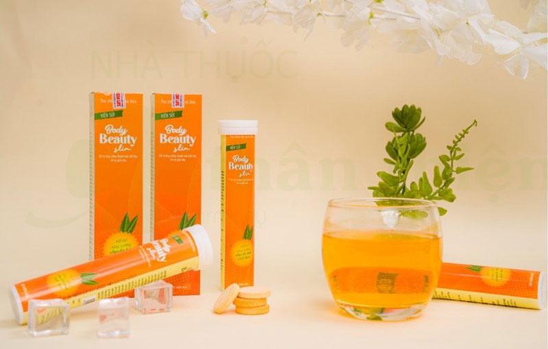 Body Beauty Slim, hỗ trợ tăng cường chuyển hóa chất béo và hỗ trợ giúp giảm béo