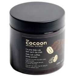 Cà phê Đắk Lắk làm sạch da chết Dak lak coffee body polish Cocoon