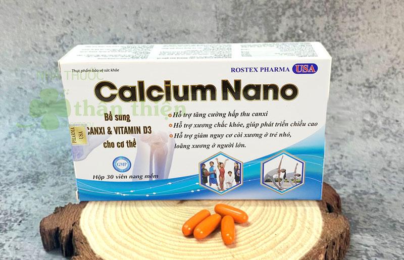 Calcium Nano Rostex Pharma, hỗ trợ giảm nguy cơ còi xương ở trẻ nhỏ
