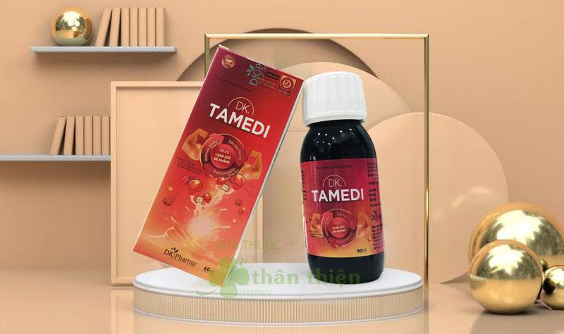DK Tamedi, hỗ trợ nâng cao sức đề kháng, giúp giảm nguy cơ viêm đường hô hấp