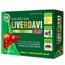 Giải độc gan Liverdavi Plus