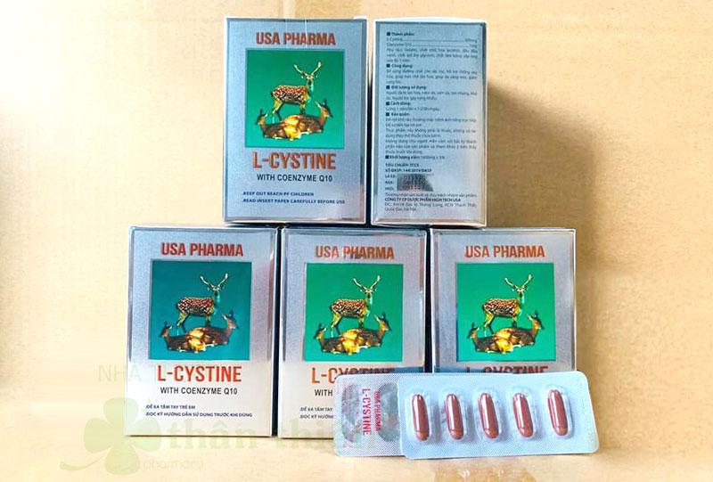 L-Cystine With Coenzyme Q10, hỗ trợ chống oxy hóa, giúp hạn chế lão hóa
