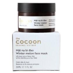 Mặt nạ bí đao Cocoon Winter melon face mask