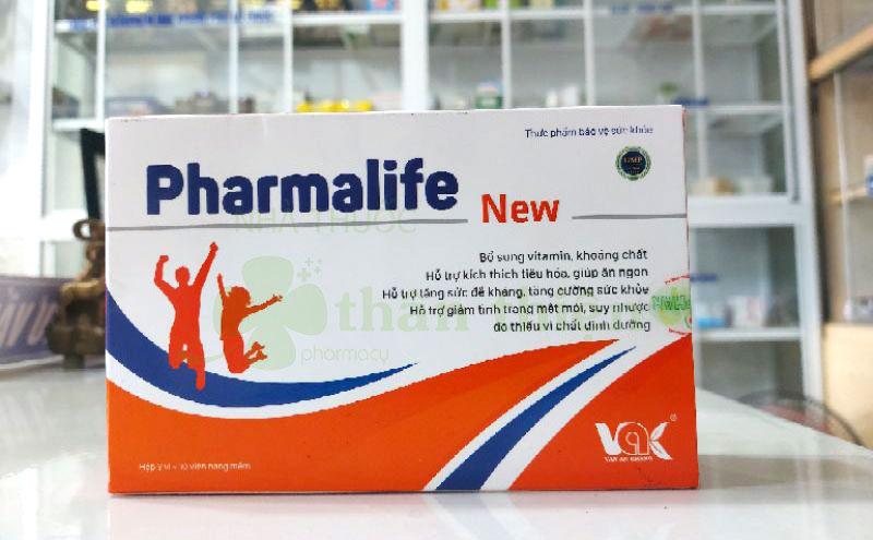 Pharmalife New, hỗ trợ suy nhược do thiếu vi chất dinh dưỡng