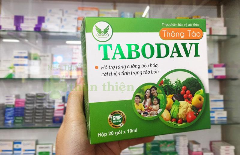 Thông táo Tabodavi, hỗ trợ nhuận tràng, thông tiện, giảm táo bón
