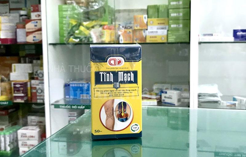 Tĩnh Mạch TM, hỗ trợ hoạt huyết, tăng cường sức bền thành mạch