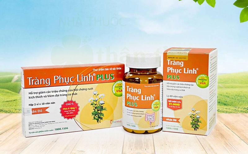 Hình ảnh Tràng Phục Linh Plus đang có bán chính hãng tại Nhà Thuốc Thân Thiện