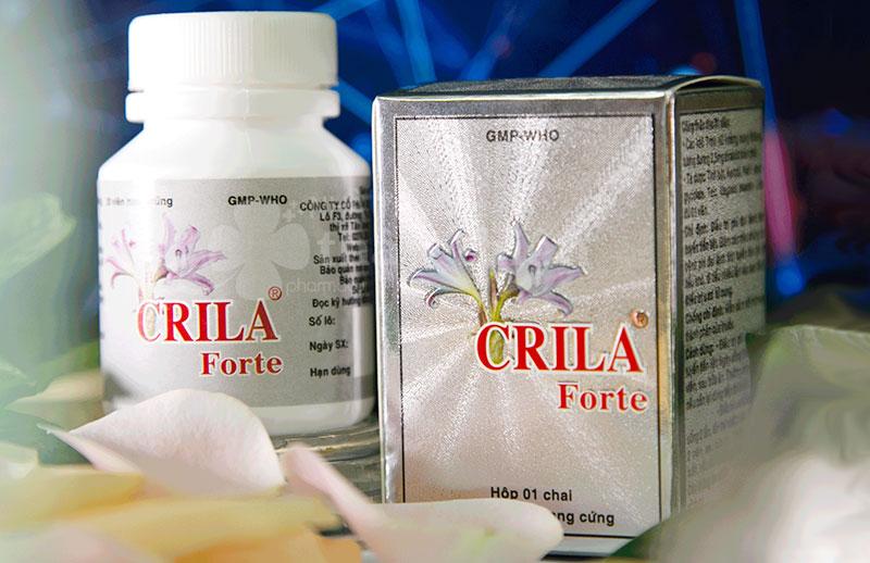 Crila Forte, điều trị phì đại lành tính tuyến tiền liệt và u xơ tử cung