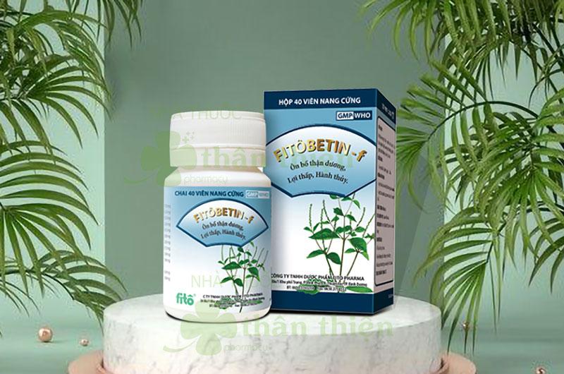 Fitobetin - F, giúp ôn bổ thận dương, lợi thấp, hành thủy